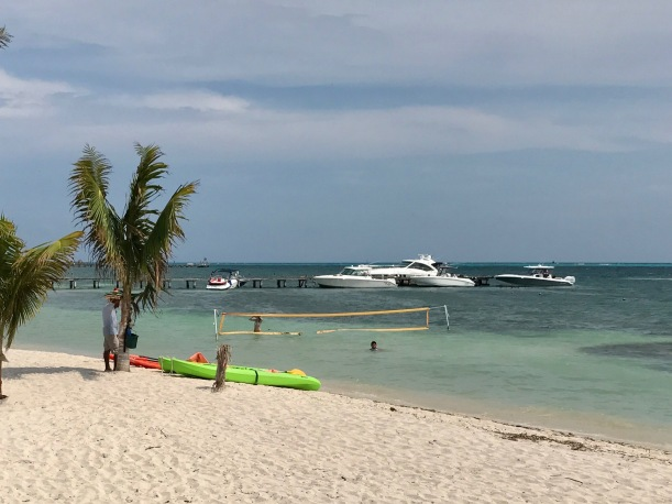 To Create Sunshine beach on Isla Mujeres