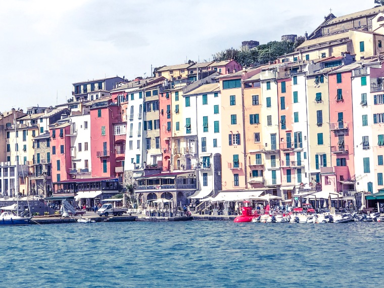 Portovenere, Italy and the Bay of Poets